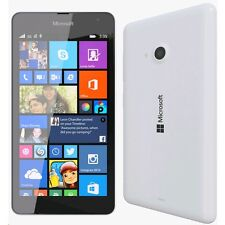 "BNIB Nokia Lumia 535 8GB White 3G Unlocked Windows Wifi GPS Smartphone 5"" LCD"