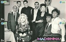 RARE / PUZZLE 4 CARTES TELEPHONIQUES - MADONNA ( PUZZLE 4 PHONECARDS )