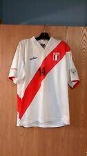Peru National Soccer Futbol Jersey #14 Claudio Pizarro Adult Large