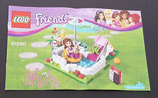 LEGO Friends Notice Instructions 41090 La piscine d Olivia The pool Olivia