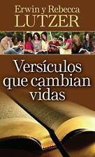 Versiculos Que Cambian Vidas : El Poder Transformador de la Palabra de Dios...