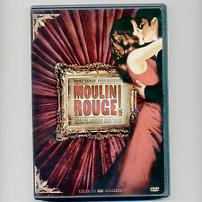 Moulin Rouge! 2001 romantic musical movie, new DVD Nicole Kidman, Ewan McGregor