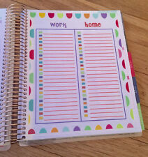 To Do List (Work/Home)  Dashboard Insert for use with Erin Condren Planner