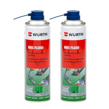 Genuine Wurth HHS Fluid - Grease Fluid Resistanct to Centrifugal Force 2 x 500ml