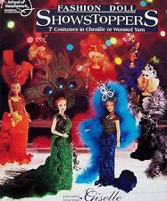 Crochet Fashion Doll Show Stoppers  ASN