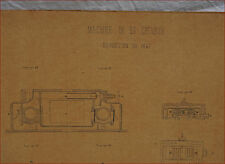 1867 Paris Universal Exhibition Steam Engine 50 HP Section 2 Plans Project