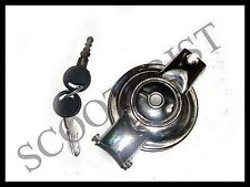 Vespa Petrol/Fuel Tank Cap/Cover With Lock & Keys VBB/Super/Sprint/150/Rally