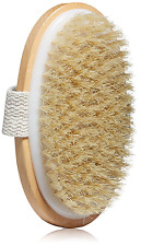 Natural Bath Bristle Body Brush Dry Brushing Cleansing Exfoliating Skin Scrub