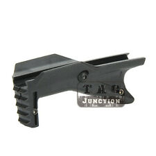 Tactical Cobra Angled Foregrip Compact Hand Stop for Picatinny Weaver Rail - BK