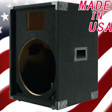 1X15 with horn PA/DJ Empty Speaker Cabinet Black Carpet PA15H-400