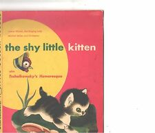 SHY LITTLE KITTEN CHILDREN'S PICTURE SLEEVE ONLY---PS---PIC----SLV