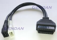 VW AUDI 2x2 pin diagnostica ADATTATORE CABLE * NUOVA *
