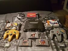 N64 Console - Bundle, 2 controllers, 6 games, including Goldeneye. Excellent