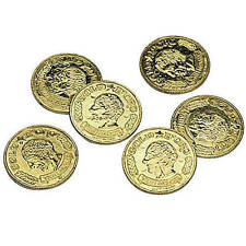 Metallic Coins are the perfect for your next pirate party