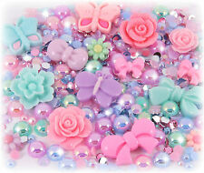 'Midsummer Dream' 20g Pastel Rhinestone Pearl Set Decoden Kit Kawaii Craft