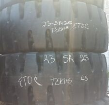 (2-Tires) 23.5R25 Tech King ETOC Loader Tire L5 23.5-25 23.5x25 Radial 23525