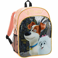 The Secret Life of Pets City Lights Backpack Book Bag School Tote NEW 2016