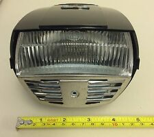 MOPED HEADLIGHT CEV C.E.V 1970's HEADLIGHT AND HORN 6 VOLT MADE IN ITALY