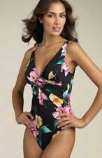 NWT Women's MAGICSUIT by Miraclesuit one piece SWIMSUIT Size 10 Free Shipping