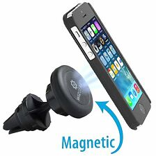 WizGear Universal Air Vent Magnetic Car Mount Holder for Cell Phone, tablet long