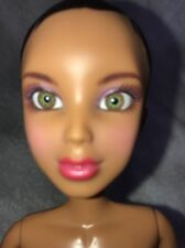 Spin Master Liv Doll articulated nude Black Hair Hazel eyes Red Lips