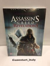 ASSASSIN'S CREED REVELATIONS GUIDA STRATEGICA UFFICIALE SIGILLATA NUOVA ITA NEW