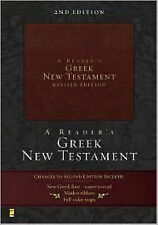 """A Reader's Greek New Testament"" by Richard J. Goodrich, Albert L. Lukaszewski"