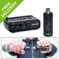 Alesis MicLink Wireless PA Microphone Adapter USB XLR - Transform Your Wired Mic