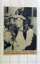 1960 Young Susan Oakley Crowned Band Of Hope Queen Clapham Baptist Church