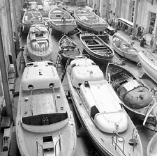 WW2 Photo WWII Small Boats US Navy Base Norfolk Virginia 1941 World War Two/7127