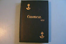 THE OXFORDSHIRE & BUCKINGHAMSHIRE LIGHT INFANTRY CHRONICLE 1952