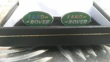 LAND ROVER CLASSIC QUALITY BOXED CUFF LINKS RANGE ROVER SPORT DEFENDER DISCOVERY