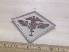 US Marine Corps - 1st Marine Airwing Desert Tan Embroidered Patch