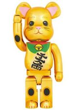 Medicom Toy Be@rbrick Bearbrick Sora-Machi Beckoning Cat 1000% Gold Maneki Sky