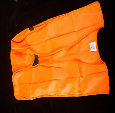 """Allen Blaze Orange Hunting Safety Shooting Vest Adult Up To 48"""" [Free Shipping]"""