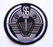"Stargate SG-1 Screen Accurate Logo 4"" Uniform Patch Command Uniform Goth Punk"