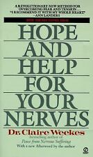 Hope and Help for Your Nerves Weekes, Claire Mass Market Paperback