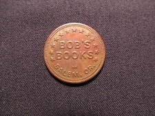 Bob's Books Token - Bob's Books in Salem, OR Coin - Oregon
