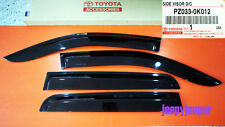 TOYOTA HILUX INVINCIBLE 05-13 SIDE VISOR RAIN SHIELD WIND DEFLECTOR GUARD D-CAB
