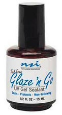 NSI Glaze N Go UV Gel Sealant 1/2 oz ( 15 mL) (5306)