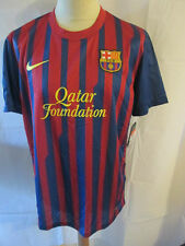 "Barcelona 2011-2012 Home Football Shirt Size Large 42""-44""  BNWT /she"