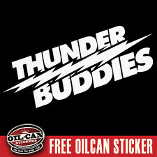 Thunder buddies sticker ted vw euro sticker jdm 290 x 90mm