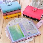 Wallet Business ID Credit Card Case Pocket Holder Bag Box Women Men 24 Cards New