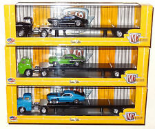 M2 MACHINES AUTO-HAULERS RELEASE 16 COMPLETE 3-TRUCK SET LIMITED EDITION A29