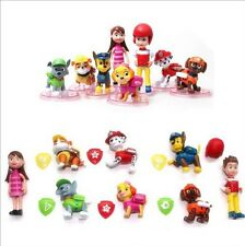 Paw Patrol cake toppers figures 8 Pcs UK seller Brand New FAST&FREE UK DELIVERY