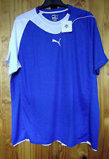 Puma Size XXXL Power Cat Handball 5.10 Shirt Royal Blue/White
