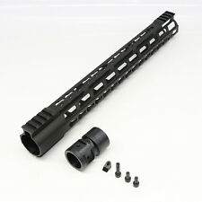 ".223/5.56 15"" Ultra Lightweight Frame Free Float Handguard w/ Steel Barrel Nut"
