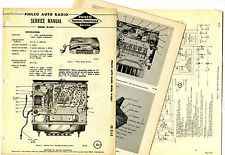 PHILCO  -  M-5841   AUTO RADIO  SERVICE MANUAL  ORIGINAL BOOK