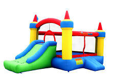 Inflatable Bounce House Mega Castle with Slide