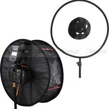 """iShoot 18""""EZ-fold Ring Speedlight Flash Softbox Diffuser Reflector Macro Shoot"""